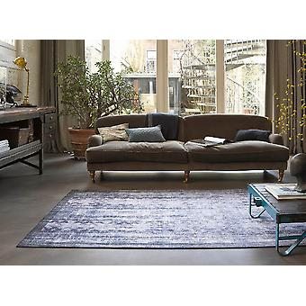 Sihouette 10050 03 Blue Grey Purple  Rectangle Rugs Traditional Rugs