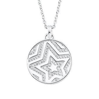 s.Oliver Jewel Women's Necklace Silver Zirconia Star 2026092