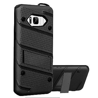 Samsung S8 und S8 Duos Fall schwarz - Rüstung Fall