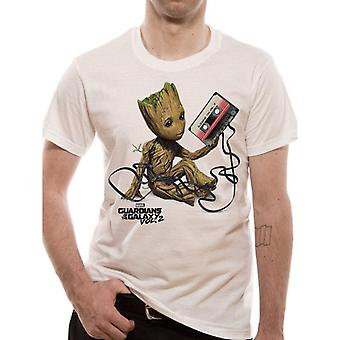 Guardians Of The Galaxy 2 Unisex Adults Groot T-Shirt