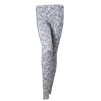 Playstation Leggings Controller All over Print new Official Womens Grey