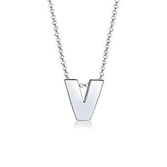 Elli sølv anheng halskjede 0108712517_45