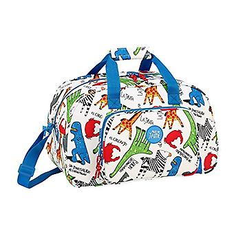Safta Algo De Jaime Children's sports bag - 40 cm - White (Blanco)
