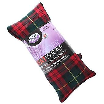 Red Tartan Lavender Heat Pack