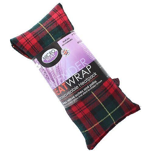 Red Tartan Lavender Heat Pack