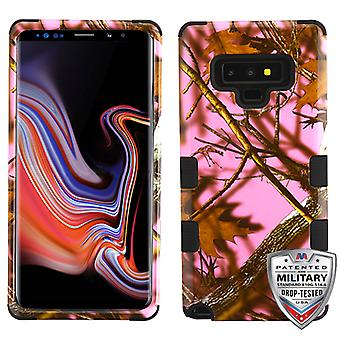 MYBAT Pink Oak-Hunting Camouflage Collection/Black TUFF Hybrid Protector Cover pour Galaxy Note 9