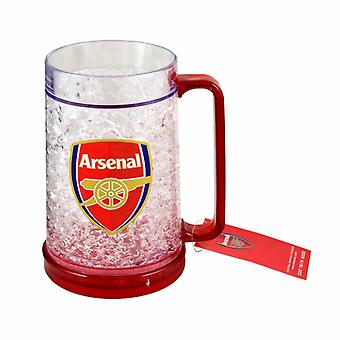Arsenal FC Official Football Crest Design Freezer Mug
