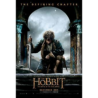 The Hobbit The Battle Of The Five Armies Original Movie Poster - Double Sided Advance