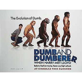 When Harry Met Lloyd: Dumb And Dumberer (Single Sided) Original Cinema Poster