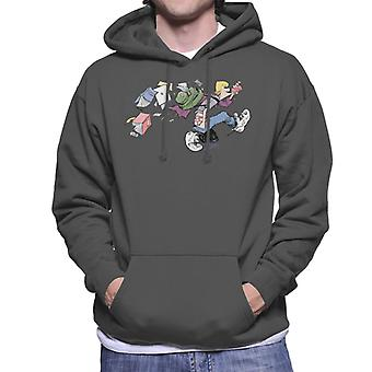 Zits Jeremy Going To High School Men's Hooded Sweatshirt