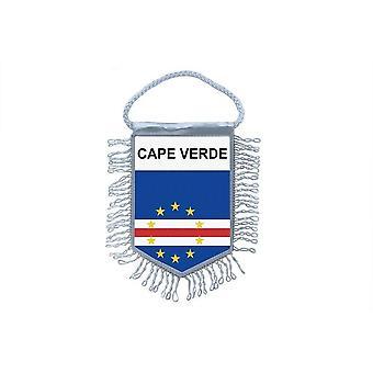 Fanion Mini Drapeau Pays Voiture Decoration Cap Vert Verdien