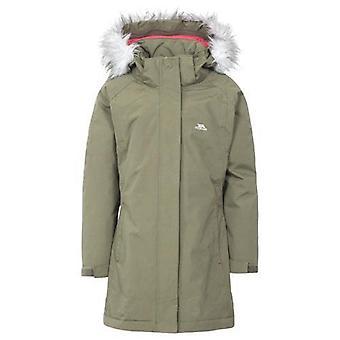 Girls Trespass Fame Waterproof Parka Jacket