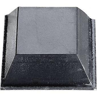 3M SJ 5023 vankúš samolepiaci, štvorcová čierna (L x š x H) 20,6 x 20,6 x 7,6 mm 1 ks (s)