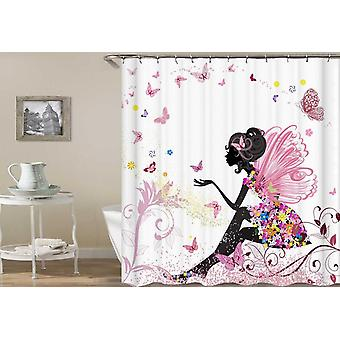 Butterflies' Fairy Shower Curtain