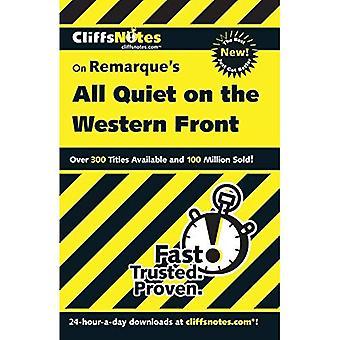Anmärkningar om Remarque ' s alla tysta på västfronten (Cliffs Notes)