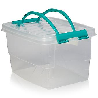 Hobby Life 7 Litre Handy Plastic Storage Box With Handle And Lid