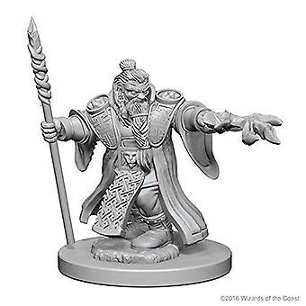 D&D Nolzur's Marvelous Unpainted Minis Dwarf Male Wizard (Pack of 6)