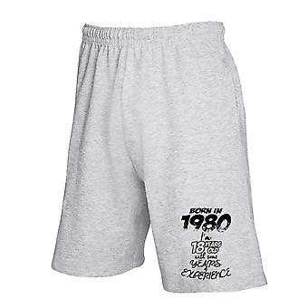 Pantaloncini tuta grigio gen0050 born in