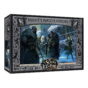 Night's Watch Heroes Box 1 A Song of Ice and Fire Expansion