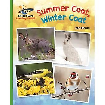Reading Planet  Summer Coat Winter Coat  Green Galaxy by Zoe Clarke