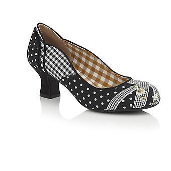 Ruby Shoo Women's Paula Mid Heel Court Shoe & Matching Dallas Bag
