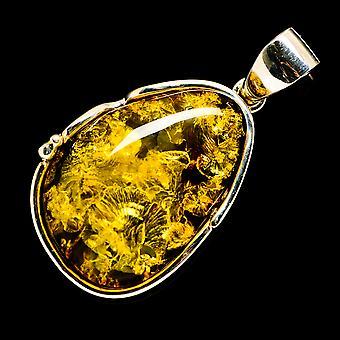 Baltic Amber Pendant 1 3/4