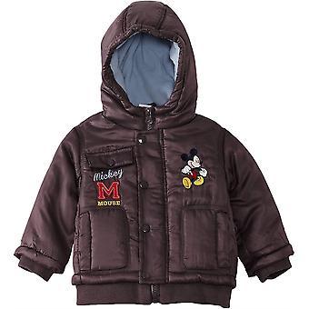 Мальчики Disney Микки Маус Baby зимняя с капюшоном куртка