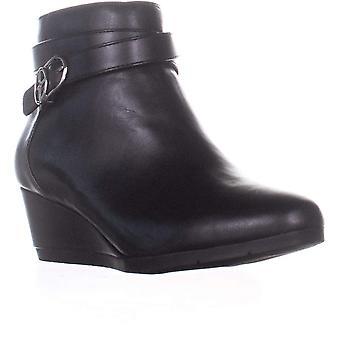 Giani Bernini Womens Cherub Leather Almond Toe Ankle Fashion Boots