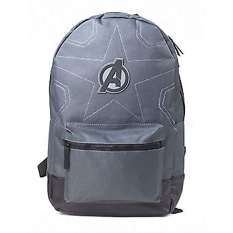 Avengers Infinity War Backpack Stitched Avengers Logo new Official Marvel Black