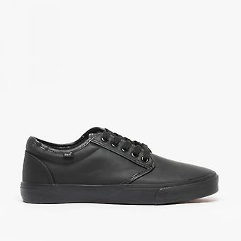DEK Era Mens Lace Up Deck Shoes Black