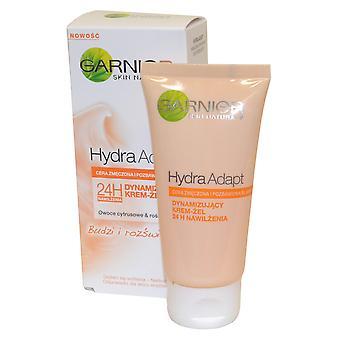 Garnier Hydra Adapt 24h Illuminating Moisture Gel Cream 50ml for Tired Skin
