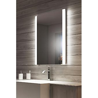 Ambient Audio Double Edge Bathroom Mirror with Shaver k1114Waud