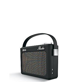 AKAI Akai A60016C Retro Bluetooth Wireless DAB Radio