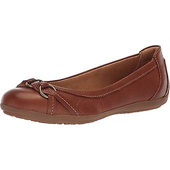Comfortiva Women's, Maloree Slip on Flats, Cognac Duster, Size 6.0