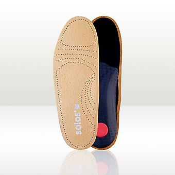 Solos Relax Anti Stress Light 3/4 length Leather Insoles