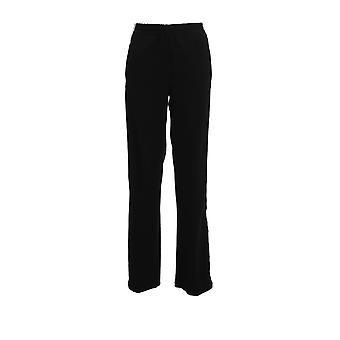 Ermanno Scervino Pl19gis99 Women's Black Polyester Pants