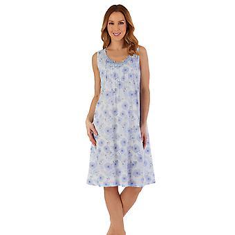 Slenderella ND55111 Women's Floral Nightdress