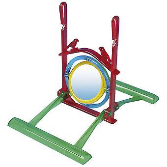 Ica Neon Mirror Toy 2 Gastwirte (Vögel , Spielzeug)