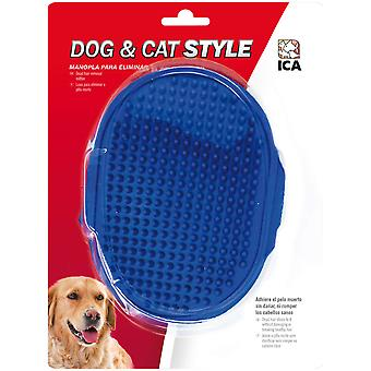 Ica Mitten Brush Rubber Aj (Dogs , Grooming & Wellbeing , Brushes & Combs)