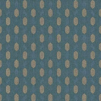A.S. Creation AS Creation Diamond Geometric Wallpaper Absolutely Chic Geo Teal Brown 36973-4