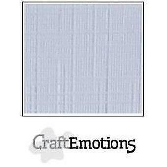 CraftEmotions papelão de linho 10 Sh diamante branco LHC-100 A4 250gr