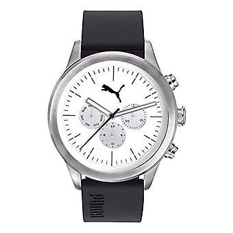 PUMA men's Quartz Watch with plastic Strap PU104281003