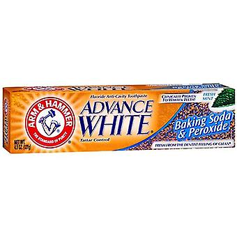 Arm & hammer advance white extreme whitening, fresh mint, 4.3 oz