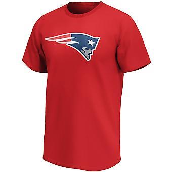 Нью-Ингленд Пэтриотс НФЛ Вентилятор Рубашка Iconic Логотип Красный