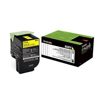 808Y Yellow Return Toner Cartridge 1K Cx310 410 510