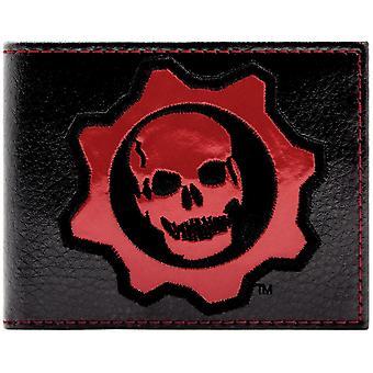 Gears of War schedel en Cog identiteitskaart & Bi-Fold portemonnee