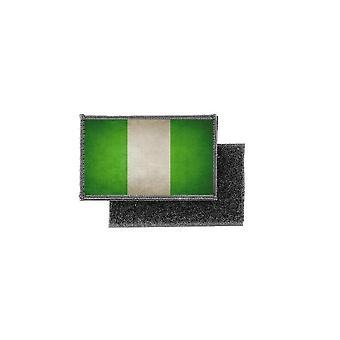 Patch ecusson prints vintage badge nigeria flag