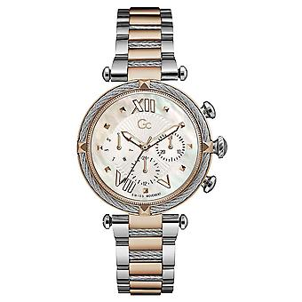 Gc Guess Collection Y16002l1mf Cable Chic Ladies Watch 38 Mm