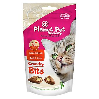 Planet Pet Snack Gato Bites Anti Hairball (Cats , Treats , Biscuits)