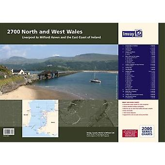 Imray Chart Atlas 2700 - North and West Wales Chart Pack - Liverpool t
